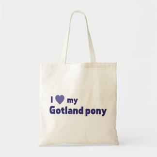 ゴトランドの子馬 トートバッグ