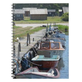 ゴトランド-小さなボート スパイラルノート