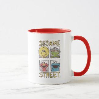 ゴマのStreetVintageのキャラクターの漫画 マグカップ