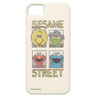 ゴマのStreetVintageのキャラクターの漫画 iPhone SE/5/5s ケース