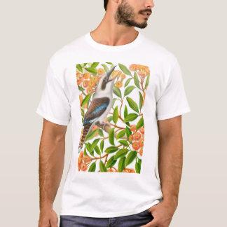 ゴムの木のワイシャツの笑うKookaburra Tシャツ