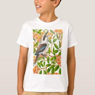 ゴムの木の笑うKookaburraはワイシャツをからかいます Tシャツ