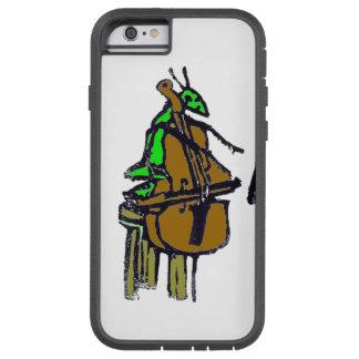 ゴム印、ジークフリートはチェロを演奏します TOUGH XTREME iPhone 6 ケース