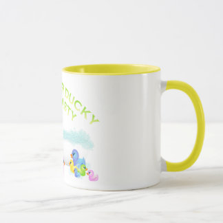 ゴム製アヒル マグカップ