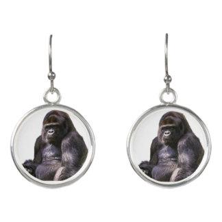 ゴリラのサル猿 イヤリング