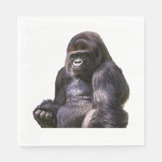 ゴリラのサル猿 スタンダードランチョンナプキン
