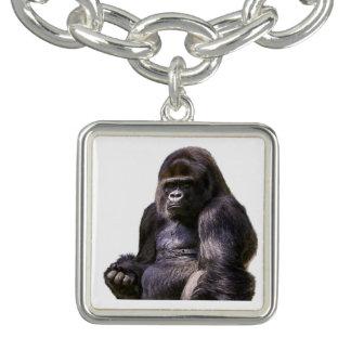 ゴリラのサル猿 チャームブレス