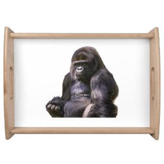 ゴリラのサル猿 トレー