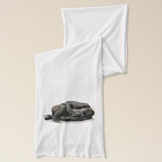 ゴリラのジャングルのオウム スカーフ