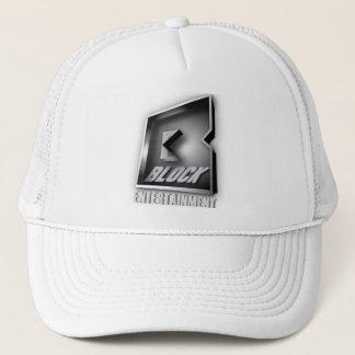 ゴリラのソエの帽子-ブロック企業の黒 キャップ