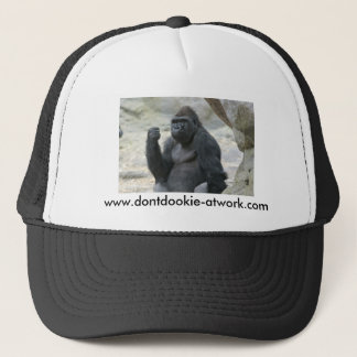 ゴリラのトラック運転手の帽子 キャップ