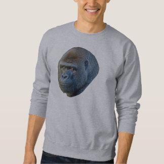 ゴリラの写真 スウェットシャツ
