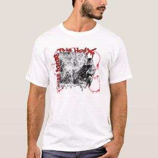 ゴリラの落書きのステンシル Tシャツ