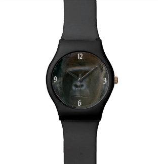ゴリラの顔の腕時計 腕時計