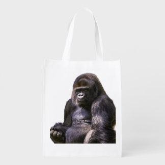 ゴリラ猿のサル エコバッグ