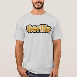 ゴリラ(傷つく) Tシャツ