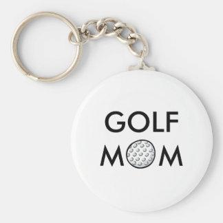 ゴルフお母さんKeychain キーホルダー