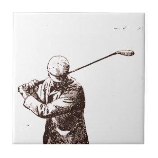ゴルフのための不機嫌 タイル