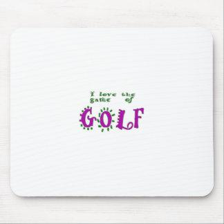 ゴルフのゲーム マウスパッド