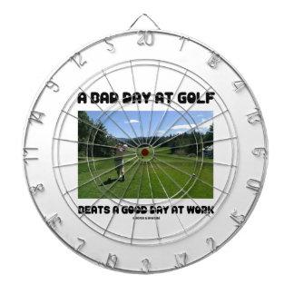 ゴルフの悪い日は仕事でよい日を打ちます ダーツボード