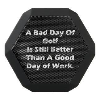 ゴルフの悪い日 ブラックBluetoothスピーカー