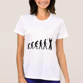 ゴルフの進化 Tシャツ