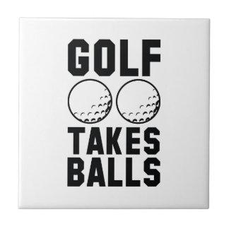 ゴルフは球を取ります タイル