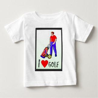 ゴルフは私の情熱です ベビーTシャツ