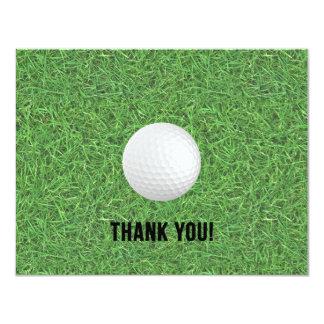 ゴルフは郵便はがき感謝していしています カード
