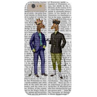 ゴルフをするキリン2 BARELY THERE iPhone 6 PLUS ケース