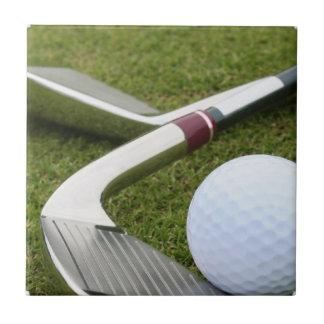 ゴルフをするタイル タイル