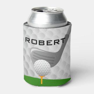 ゴルフをするデザインの飲料のボトルのクーラーボックス 缶クーラー