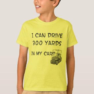 ゴルフをするドライブ Tシャツ