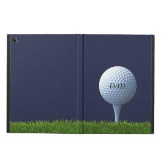 ゴルフをするパパのゴルフ・ボールのiPadの場合 Powis iPad Air 2 ケース