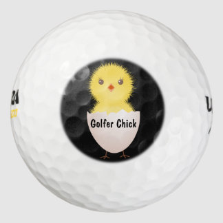 ゴルファーのひよこのゴルフ・ボール ゴルフボール