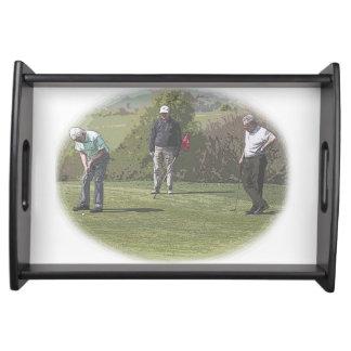 ゴルファーのトレイ トレー