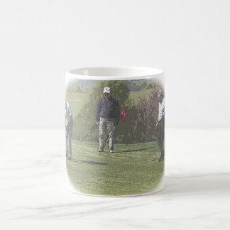 ゴルファーのマグ コーヒーマグカップ