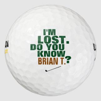ゴルファーの無くなボール ゴルフボール