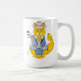 ゴルファー猫のマグ コーヒーマグカップ
