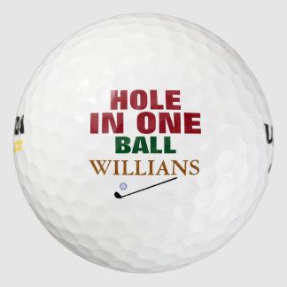 ゴルファー穴1 ゴルフボール