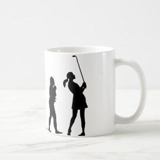 ゴルファー コーヒーマグカップ