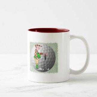 ゴルファー ツートーンマグカップ