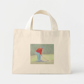 ゴルファー、バッグ ミニトートバッグ
