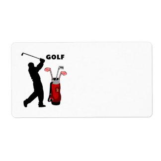 ゴルファー ラベル