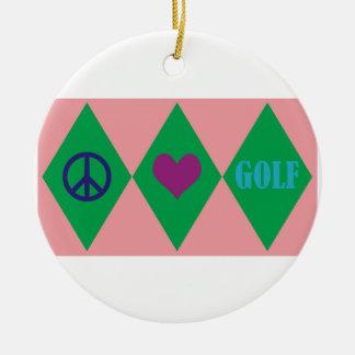 ゴルフアーガイル セラミックオーナメント