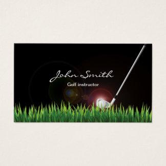 ゴルフインストラクターのプロフェッショナル 名刺