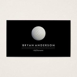 ゴルフインストラクターの名刺 名刺