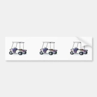 ゴルフカートのグラフィック バンパーステッカー