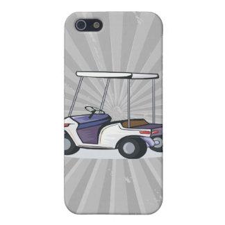 ゴルフカートのグラフィック iPhone 5 カバー