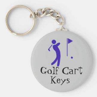 ゴルフカートの鍵 キーホルダー